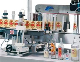 Bottle Labeling System  for Leáñez & Cia S.A.